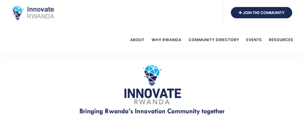 Innovate Rwanda is the digital ecosystem mapping tool developed together with RISA at the digital transformation center