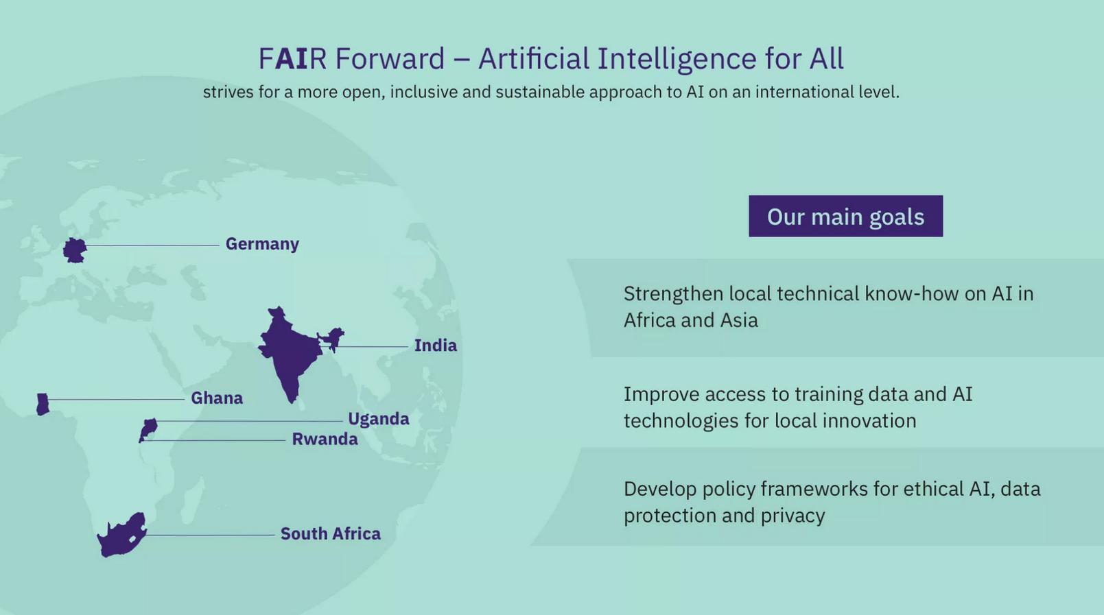 Fair Forward - Artificial Intelligence for all