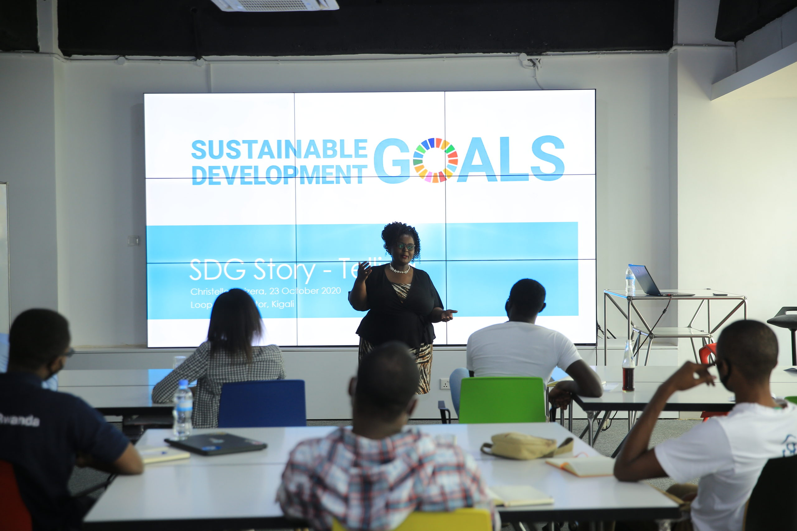 Contributing to the Sustainable development Goals at the Loop accelerator in Kigali Rwanda