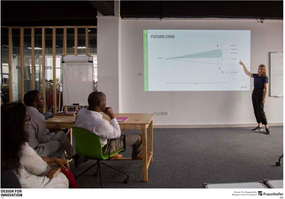 Design thinking trainings for the Rwandan Community at the Digital Transformation Center Kigali
