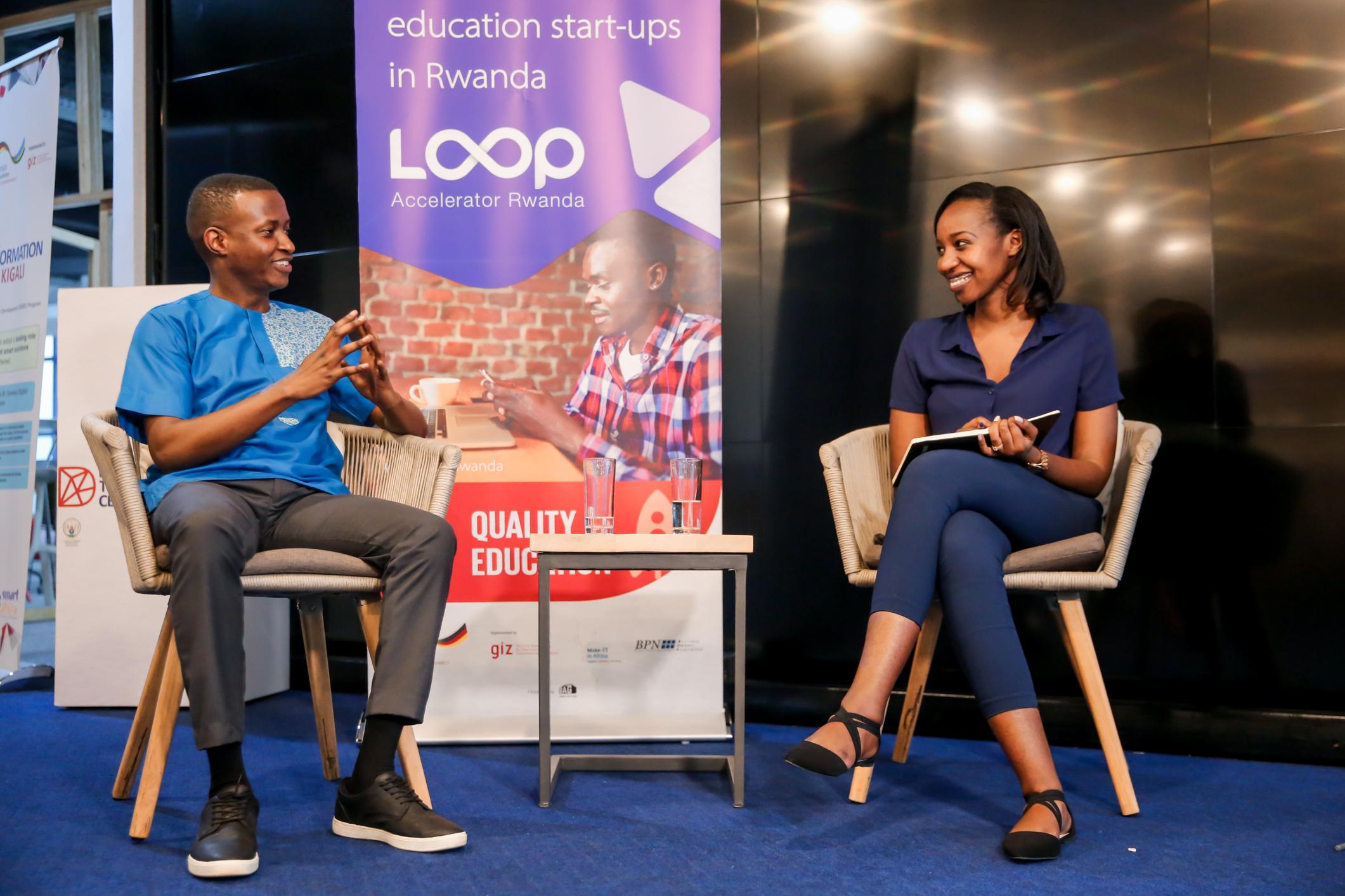 Discussions at the LOOP Accelerator in Kigali Rwanda