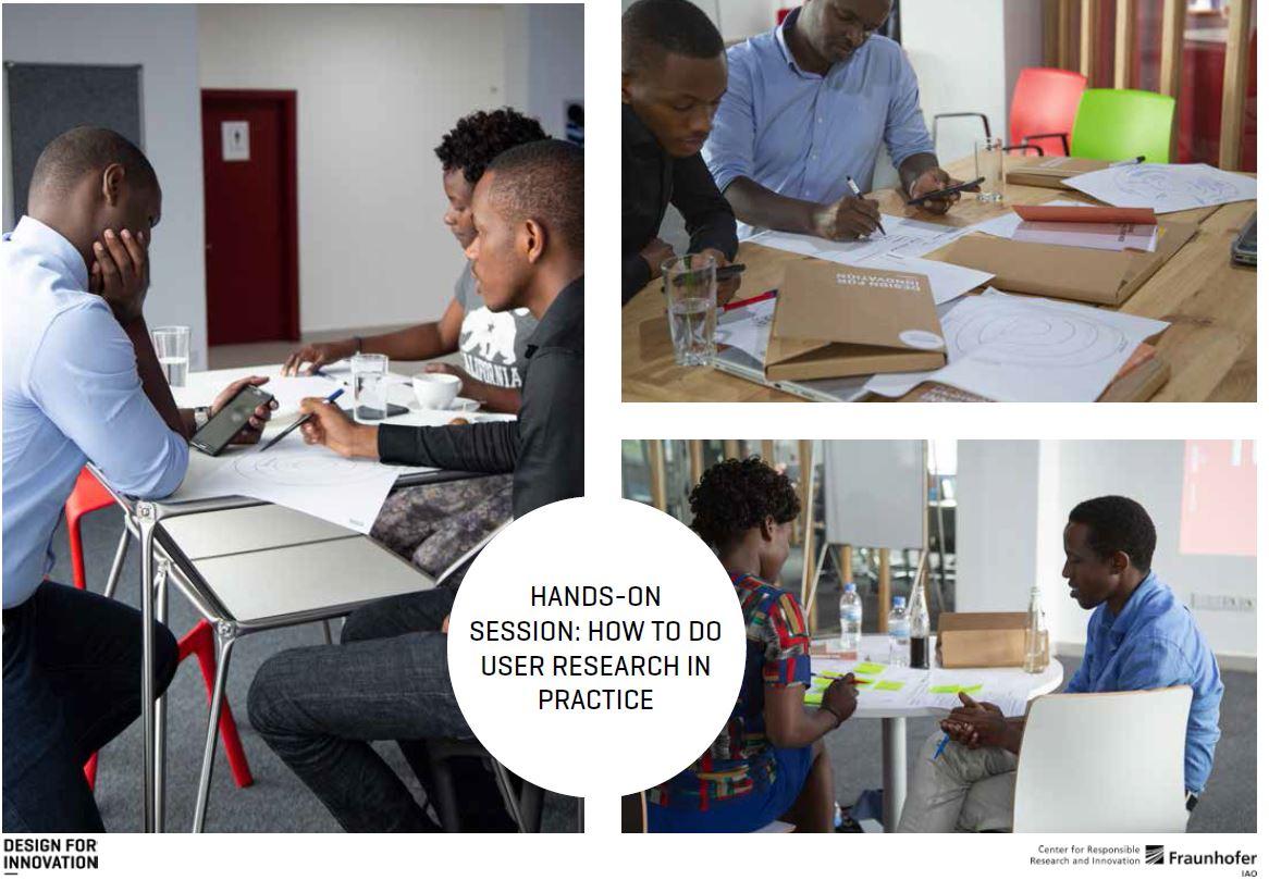 Fraunhofer IZM Cerri Training at the Digital Transformation Center Kigali
