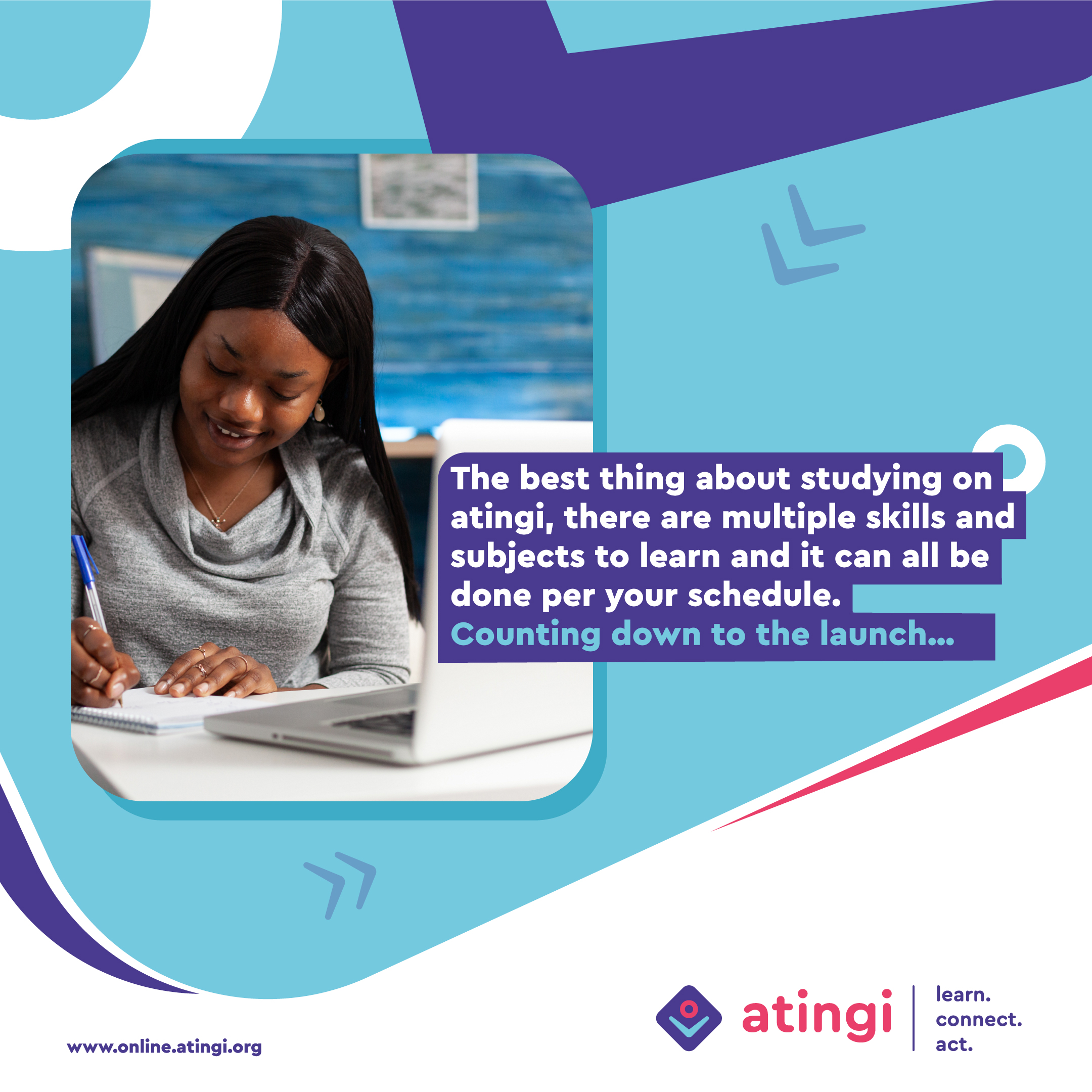 Join our atingi launch event