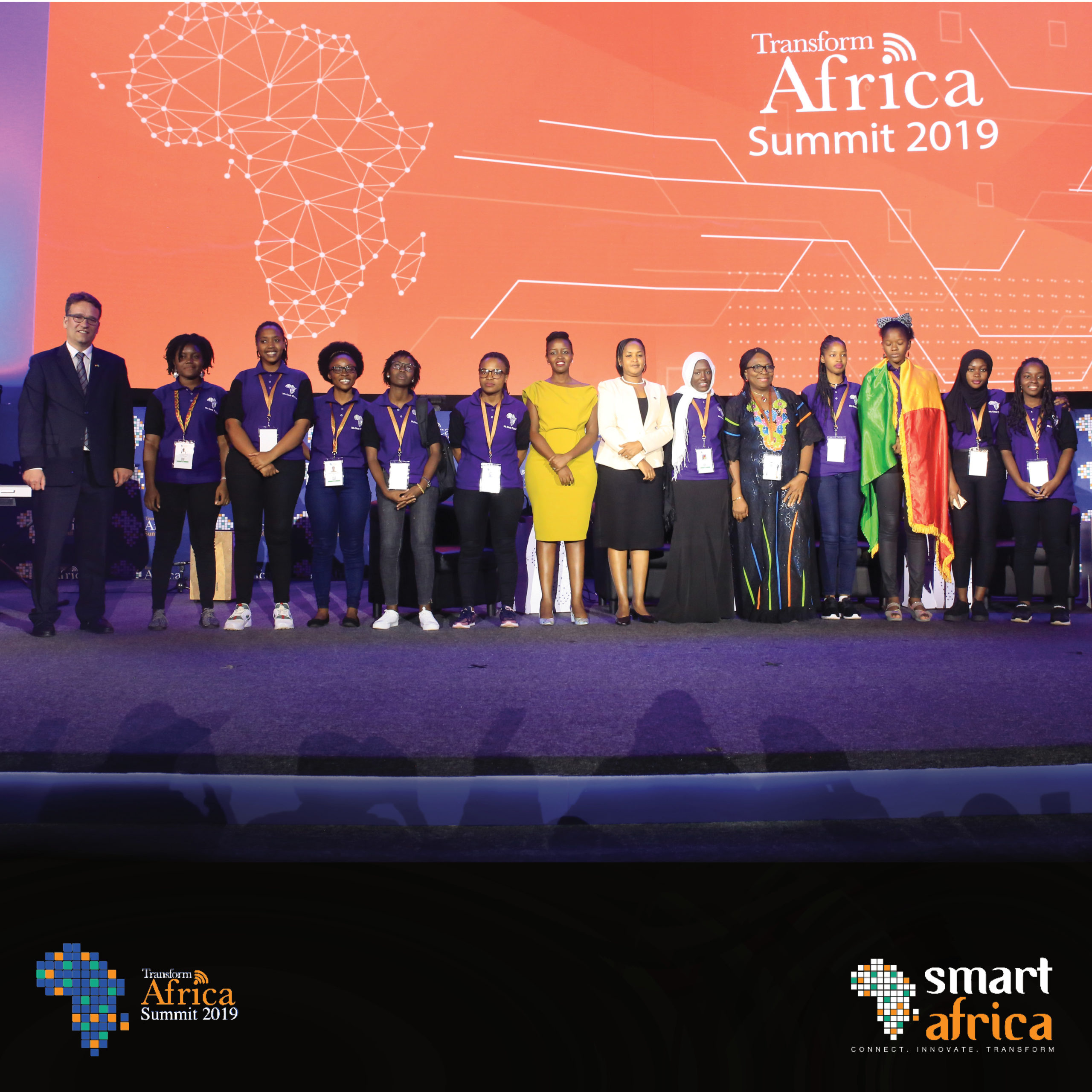 Miss Geek Africa at the Transform Africa Summit
